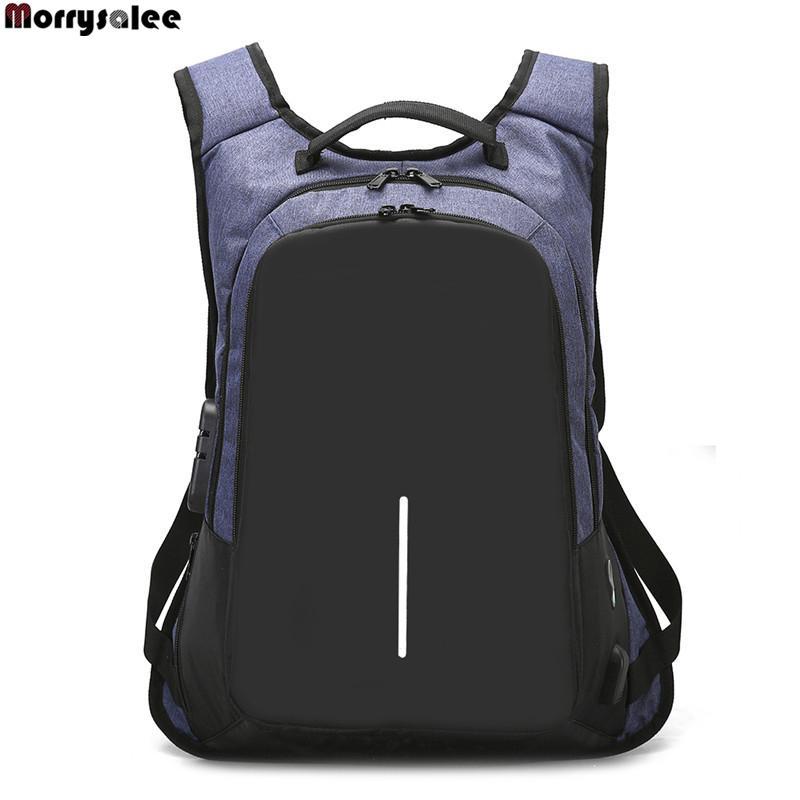 f6b37d4fd68 Schoudertas Mannen Rugzak Business Computer Tassen Nieuwe Wachtwoord Lock  Anti Diefstal Pakket Leather Rucksack Fashion Bags From F6241163, $18.59|  DHgate.
