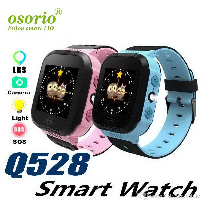 Kids Gps Tracker Smart Watch Sos Call Location Recorder Alarm Anti-lost Sensor Children School Boy Girl Watches Electronic Q528
