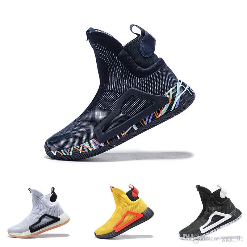 new arrival 4f1c6 7053d 2019 N3XT L3V3L True Green Clear Pink Wild Midsole Gum 5 Soles Pro Vision  For Men Basketball Boots Sport Sneaker City Sock Shoes Shoes Jordans  Sneakers On ...