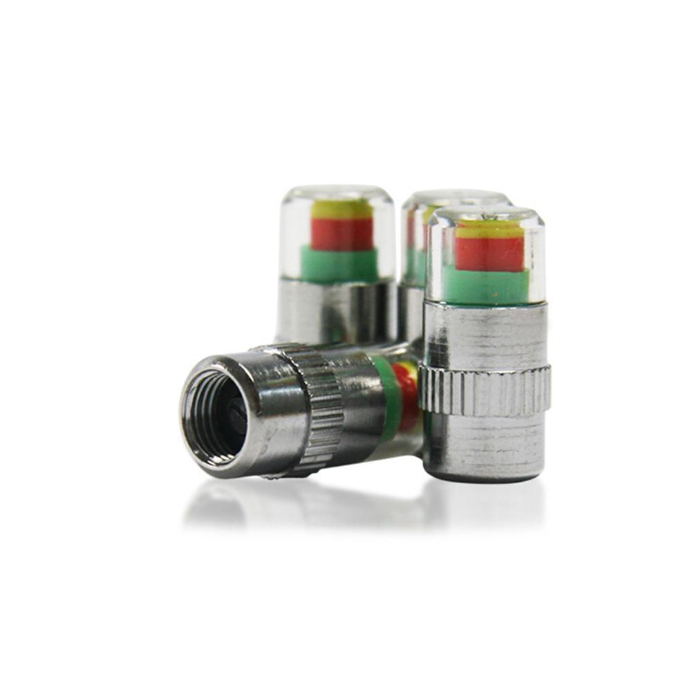 4 Unids Accesorio de Coche Auto Monitor de Presión de Neumático de Neumático Indicador de Sensor de Alerta de Neumático tapas de presión de neumático de Coche