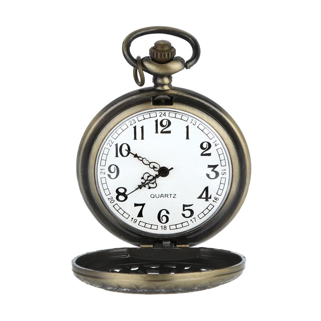 68ef202d782 Compre Padrão Personalizado Steampunk Quartzo Romano Algarismos Romanos  Relógio De Bolso Masculino Relógio Reloj Hombre Relogio Masculino De  Henrye
