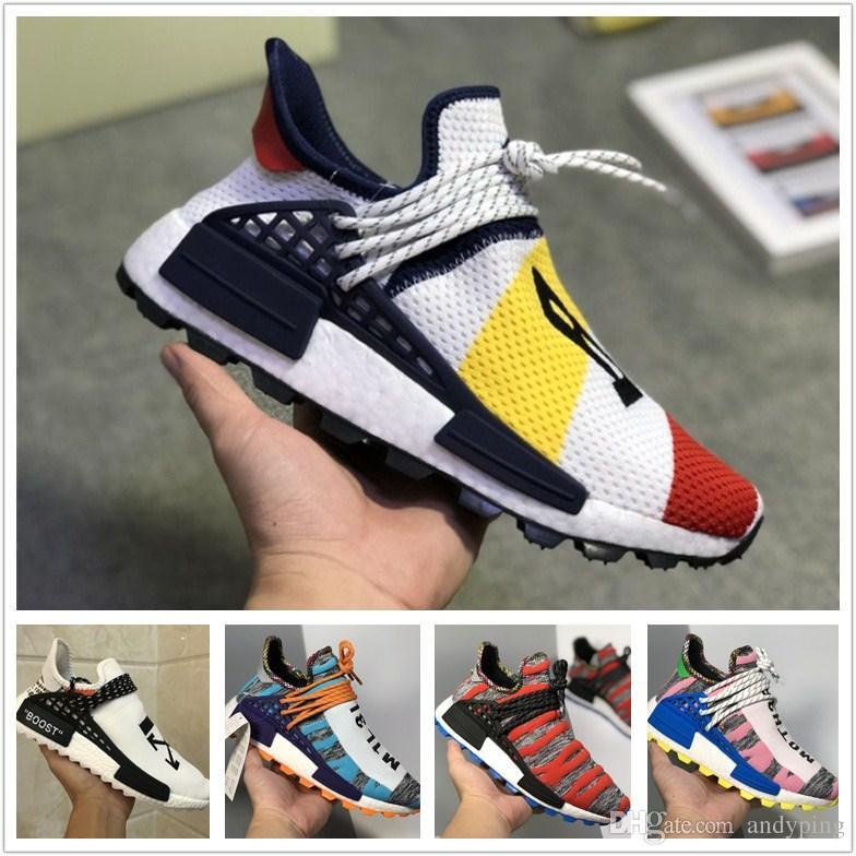 04da64ba12c31 2019 Best Quality NMD Human Race Trail Running Shoes Men Women ...