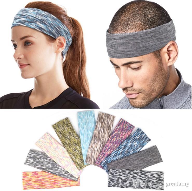 58319820593936 Großhandel 10 Farben Saugfähigen Sport Schweiß Stirnband Schweißband Für  Männer Frauen Yoga Haarbänder Kopf Schweißbänder Sport Sicherheit Von  Greatamy, ...