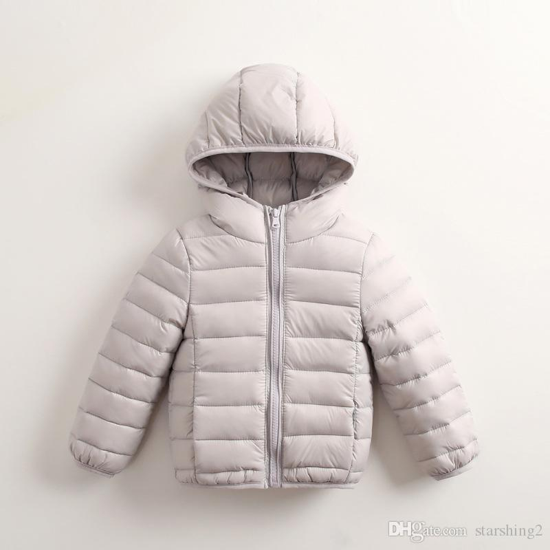 0e70947365da Autumn And Winter New Children s Down Jacket Lightweight 2018 Boys ...