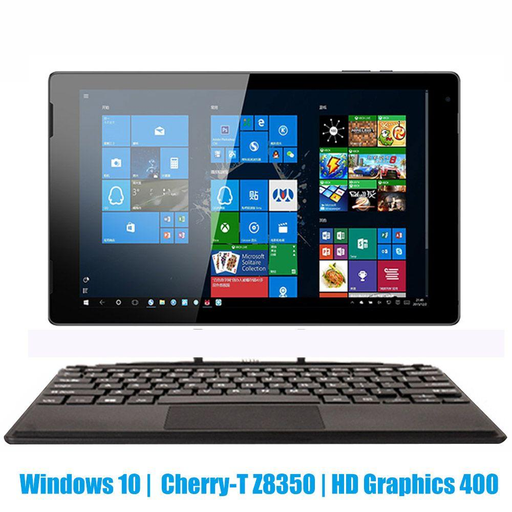 10.1 inch tablet PC Windows 10 Intel 8350 Quad Core 4GB RAM 32GB ROM Type-C 2 in 1 Tablet with Keyboard Dual Camera HDMI 6000mAh