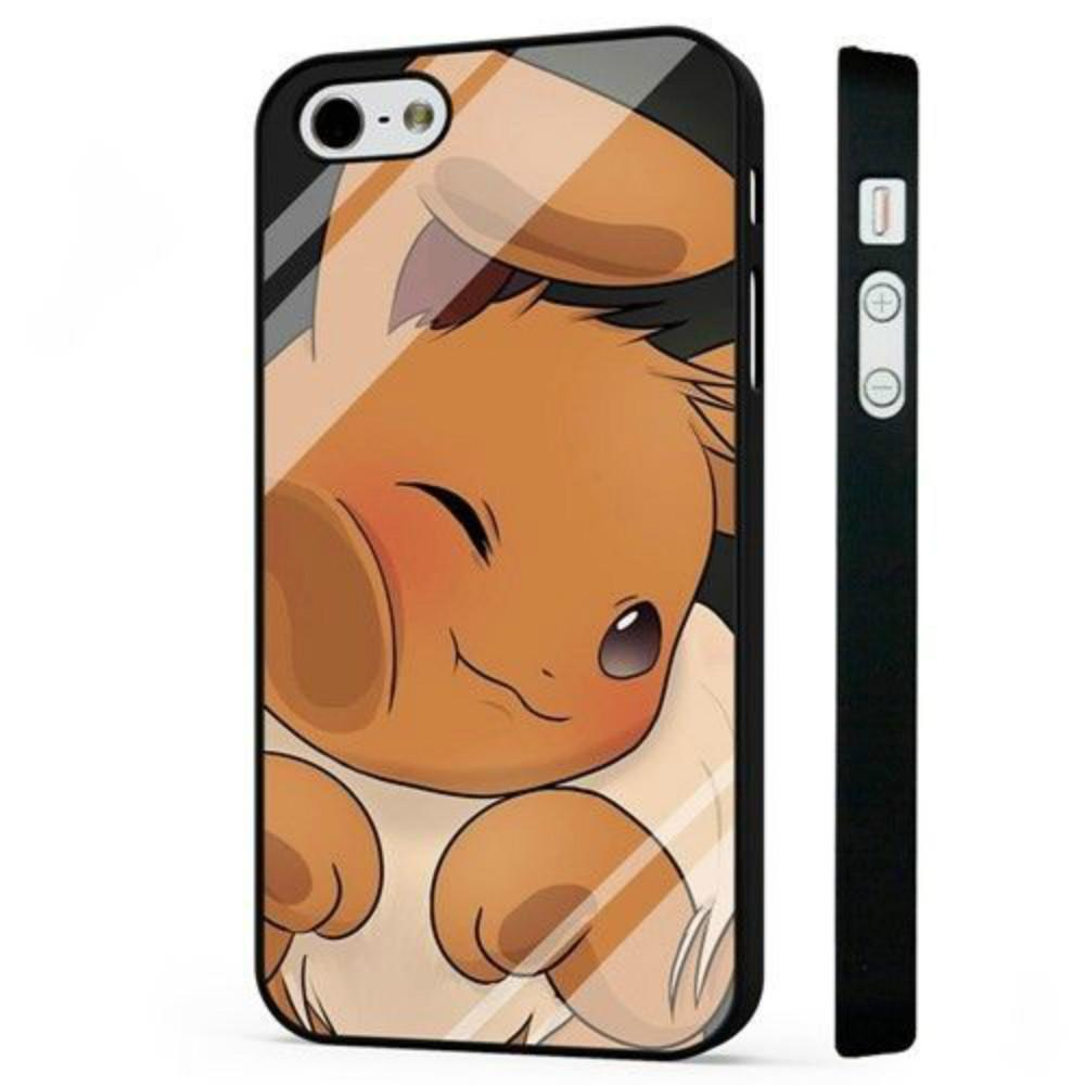 check out 6b074 d62c7 Eevee Po1kemon Funny Pikachu Phone Case For Iphone 5c 5s 6s 6plus ...