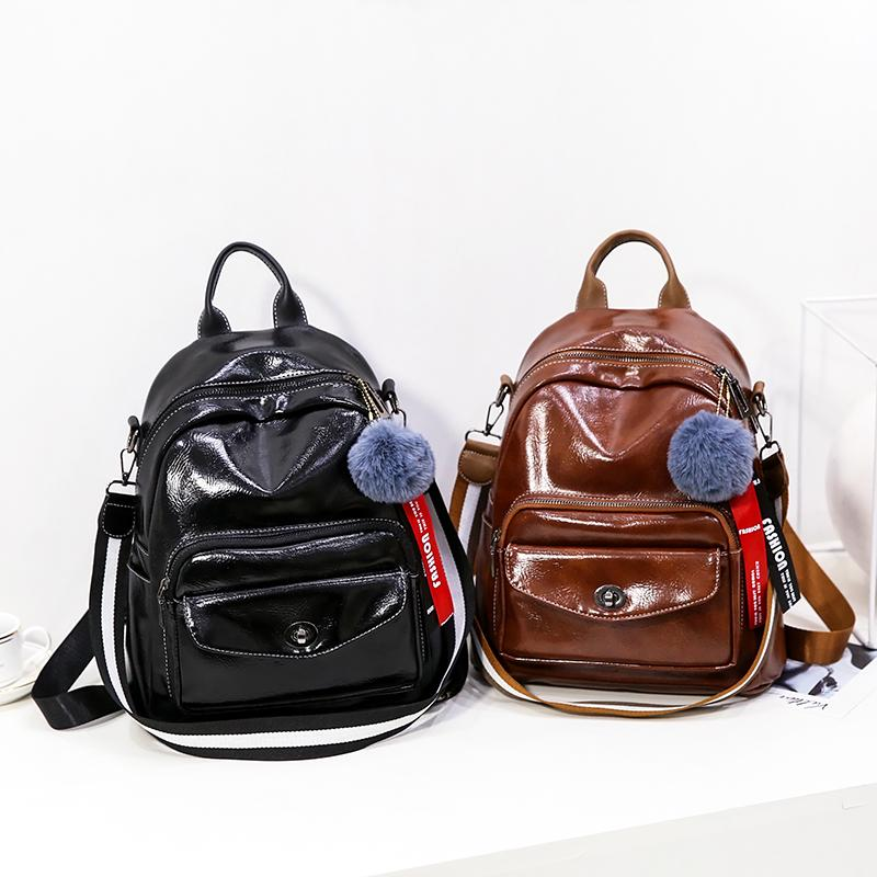 Newest School Backpacks for Teenager Girl Simple Design Minimalist Women  Shoulder Bag Female Rucksack Bagpack Mochila Women Backpack Travel Backpack  Casual ... a2dd6874d6