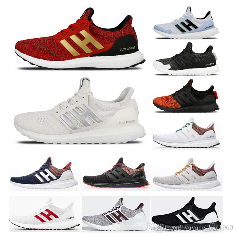 52702ae6ac2 New 2019 Ultra Boost 4.0 Game of Thrones Shoes Men Women High Quality  UltraBoost UB 4.0 Triple All White Red Primeknit Casual Shoes Sneakers