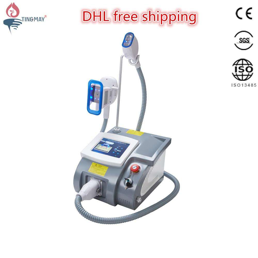 cool tech fat freezing cryolipolysis vacuum slimming machine for sale