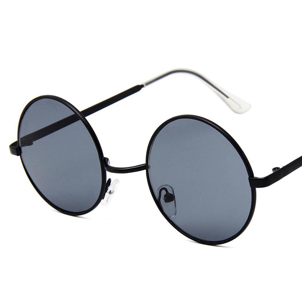 01f617ddc1 Compre Moda Lentes Redondos Mujeres Gafas De Sol Lentes De Sol Mujer Hombres  Vintage Polarized Sunglass Brand Design Redondo Marco Negro Gafas A $33.7  Del ...