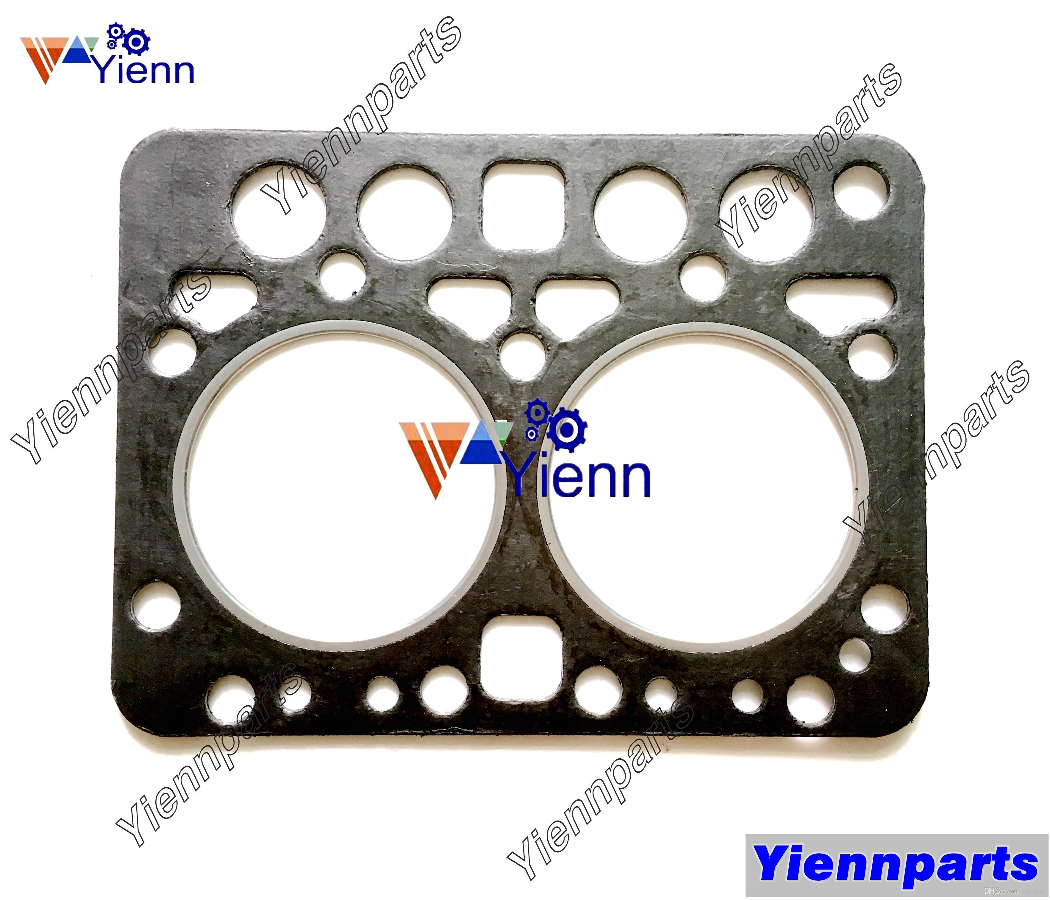 ZL600 Cylinder Head Gasket 15231-03312 For Kubota B6000 Tractor diesel  engine repair parts in good quality