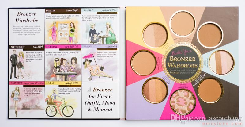 too faced bronzer book