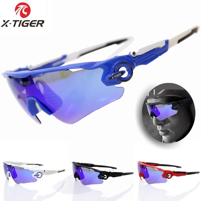 c33d05774d8b X-TIGER Polarized Cycling Glasses 3 Lens Mountain Bike Eyewear ...