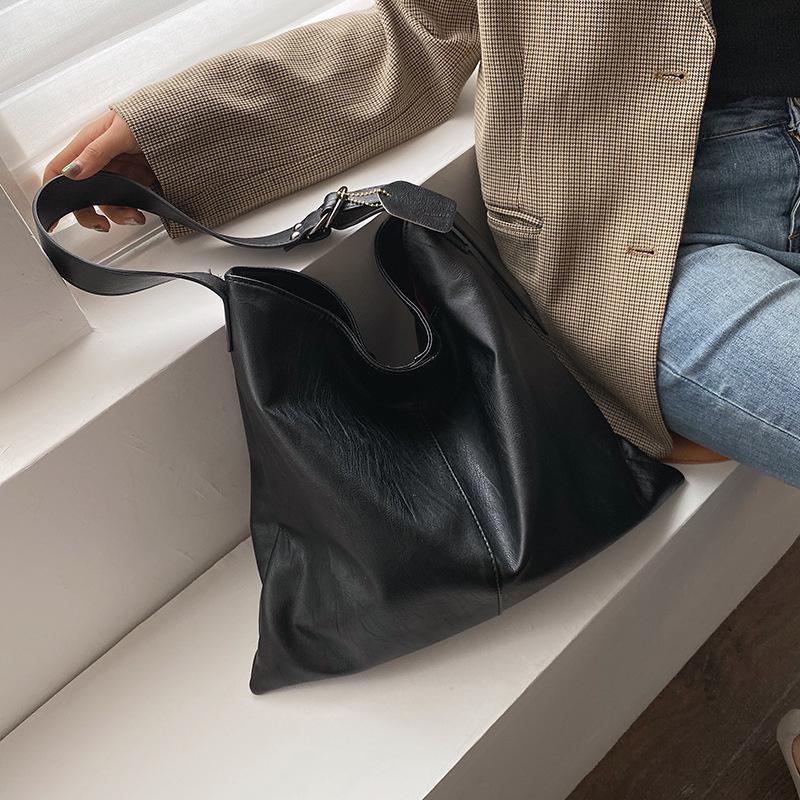 Women Canvas Big Capacity Shopping Handbag Tote Shoulder Bag Fashion 2019 Newly