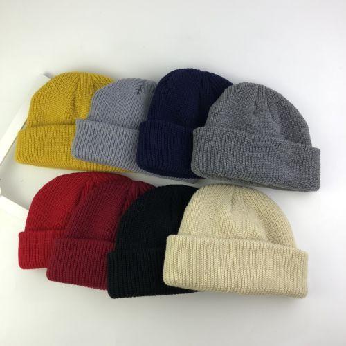 d8b1ba57d2b Fashion Men S Women Beanie Knit Ski Cap Hats Hip Hop Blank Color Winter  Warm Unisex Wool Hat Casual UK 2019 From Dragonfruit