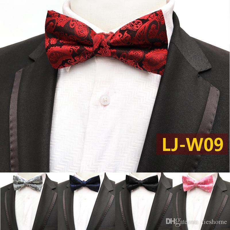 1f31ead3012a 2019 Men Bow Ties Luxury Wedding Formal Cravat British Style Gentleman  England Man Neck Tie Suit Fashion Prom Accessories Retro Necktie From  Tieshome, ...