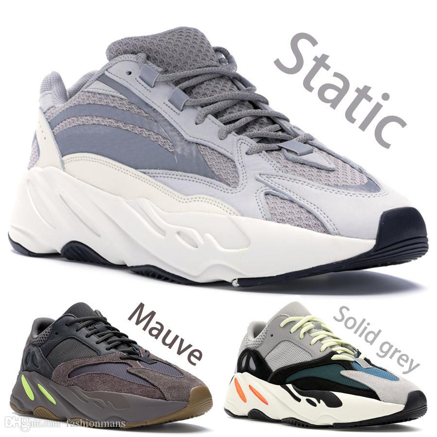 newest 0d193 1813b Compre Adidas Yeezy Boost 700 V2 Nuevo 700 Diseñador De Zapatillas Malva  Zapatillas Para Correr Para Hombre De La Mejor Calidad Ola Corredor 700  Kanye West ...