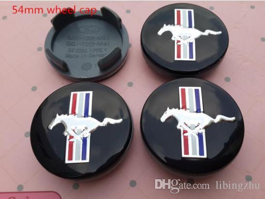 54mm St Mustang Cobra Shelby Logo Car Wheel Center Cover Hub Cap
