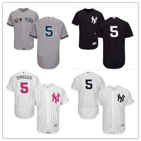 premium selection 4555b 0cfe9 2018 can New York Yankees Jerseys #5 Joe DiMaggio Jerseys  men#WOMEN#YOUTH#Men's Baseball Jersey Majestic Stitched Professional  sportswear
