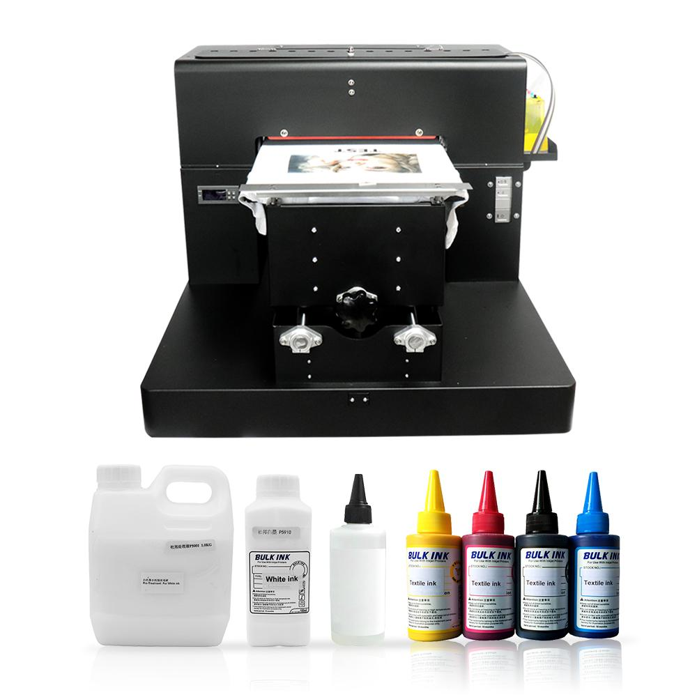 2bab6e3f8 A3 Size T Shirt Printing Machine Digital Dtg Printer Textiles T ...
