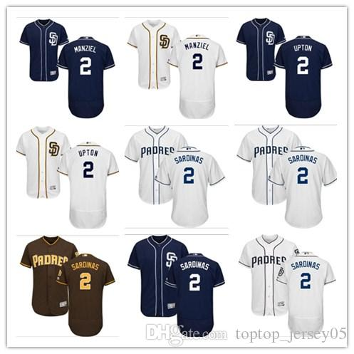 445b798f21e 2018 Can San Diego Padres Jerseys  2 Luis Sardinas Jerseys Men WOMEN ...
