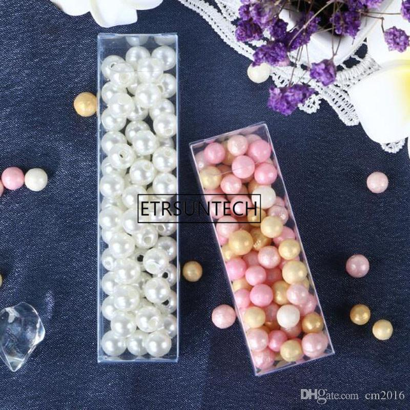 wholesale hot sale Clear Transparent PVC Plastic Packaging Box DIY Lipstick Eyeliner Pen Cosmetics Gift Box