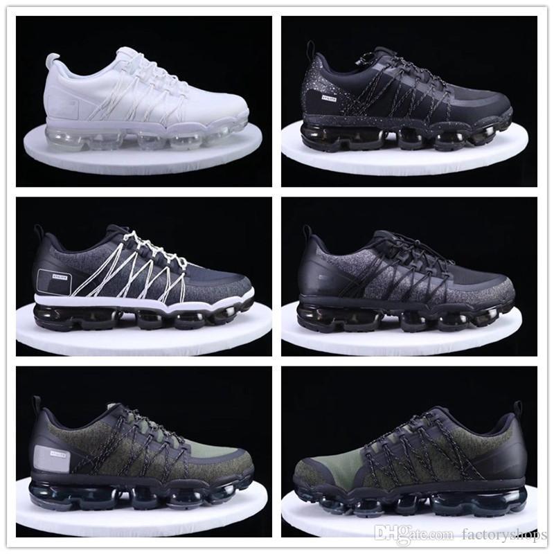 79e2e7067d9c 2019 New Run UTILITY Running Shoes for Men Women Triple White Black ...
