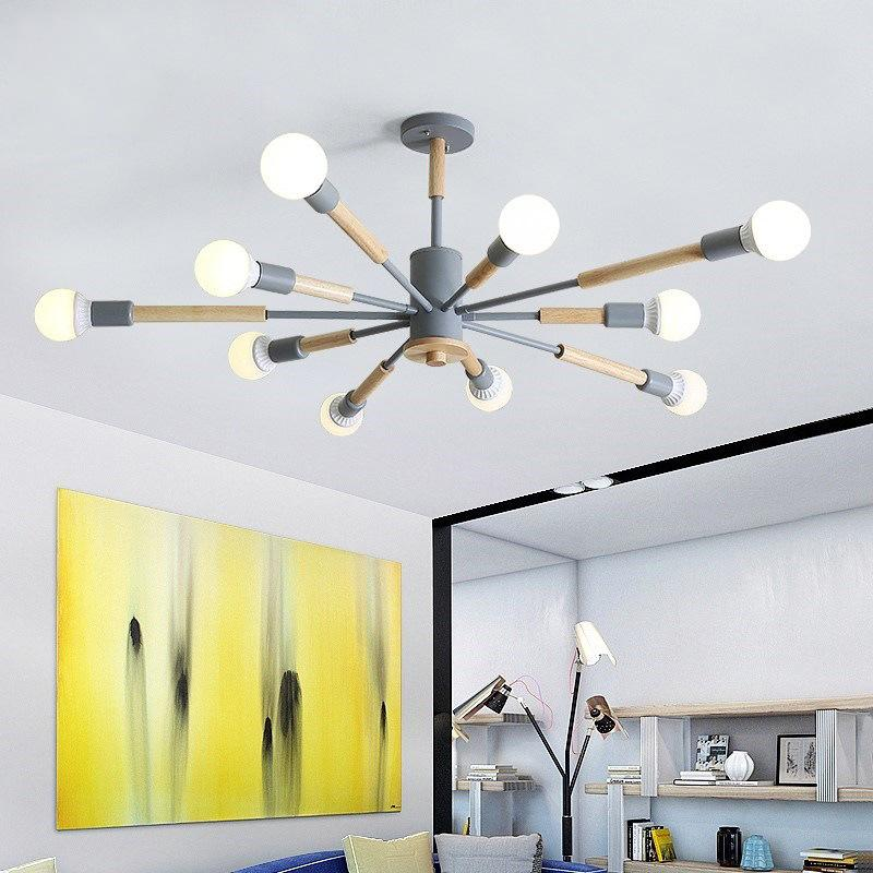 Lights & Lighting Chandeliers Modern Led Chandeliers Lighting Glass Suspended Lamps Luxury Deco Fixtures Living Room Pendant Luminaires Bedroom Hanging Lights