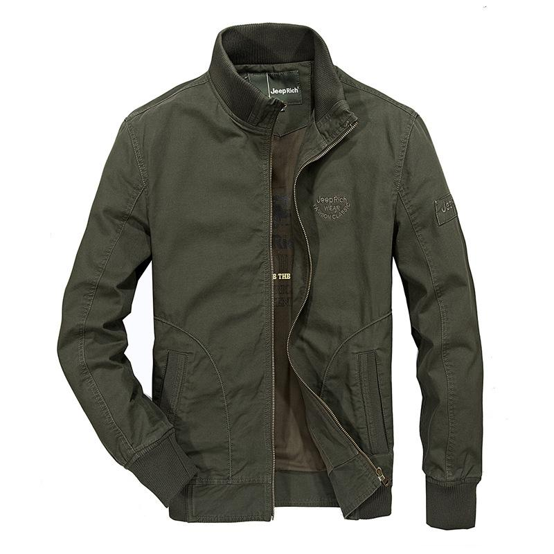 8bb0e9487131d thermal models of new fund of 2017 autumn winters is amazon middle-aged men  cotton thin coat collar jacket army men
