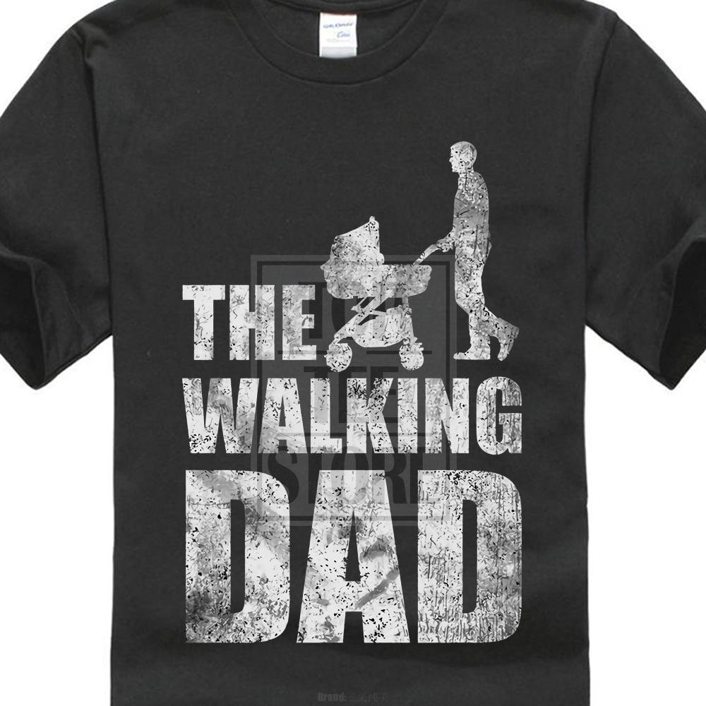 fb4ed257 The Walking Dad T Shirt Father'S Day Present Dead Fun Best Dad Daughter