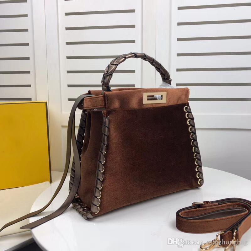 4d8f72a25bc Luxury Handbags Real Cow Leather Designer Bags Manual Weaving Tote ...