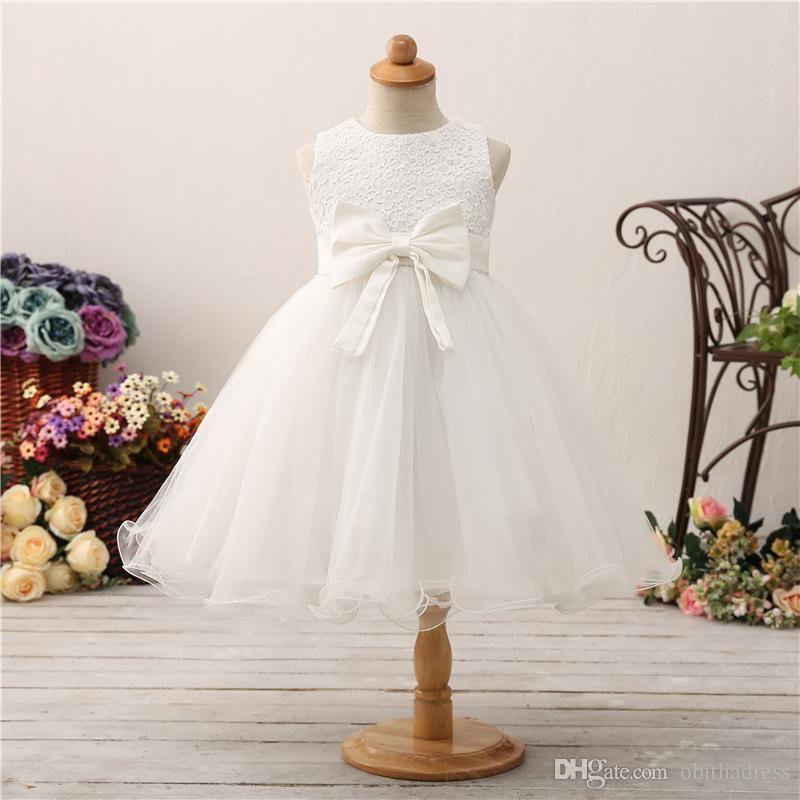 d0969f3fa Lively Cute Princess Skirt Flower Girl Dress Wedding Satin Net Thin ...