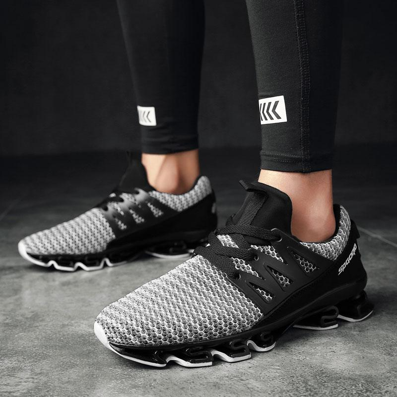 MWY Running Shoes For Men Sport Outdoor Sneakers Comfortable Breathable Mesh Walking jogging Shoes Chaussures Femme Plus Size