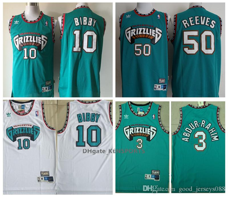 cd81d1c3f79 ... vancouver grizzlies teal mens nwt 440c5 dcb10  promo code for retro  memphis 2019 grizzlies basketball jersey 50 zach randolph 10 mike bibby 3