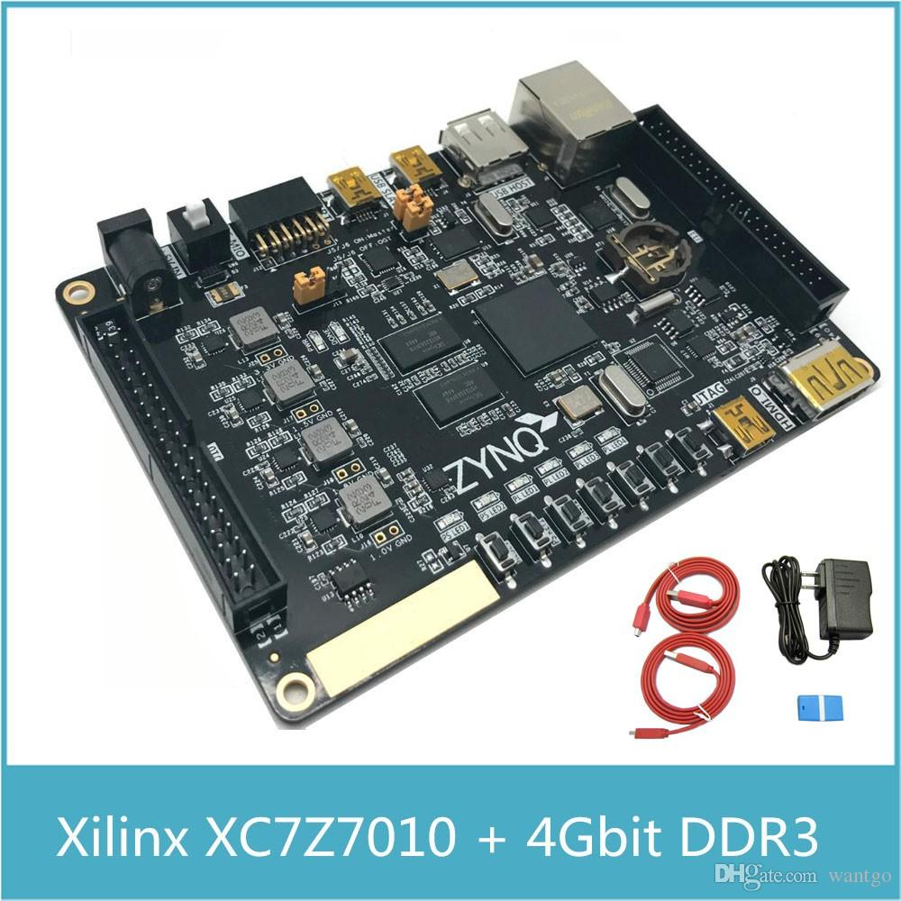 Freeshipping XILINX FPGA XC7Z010 Development Board ARM Cortex A9 ZYNQ7010  with 4Gbit DDR3 with Xilinx Platform Cable USB with HDMI Ethernet