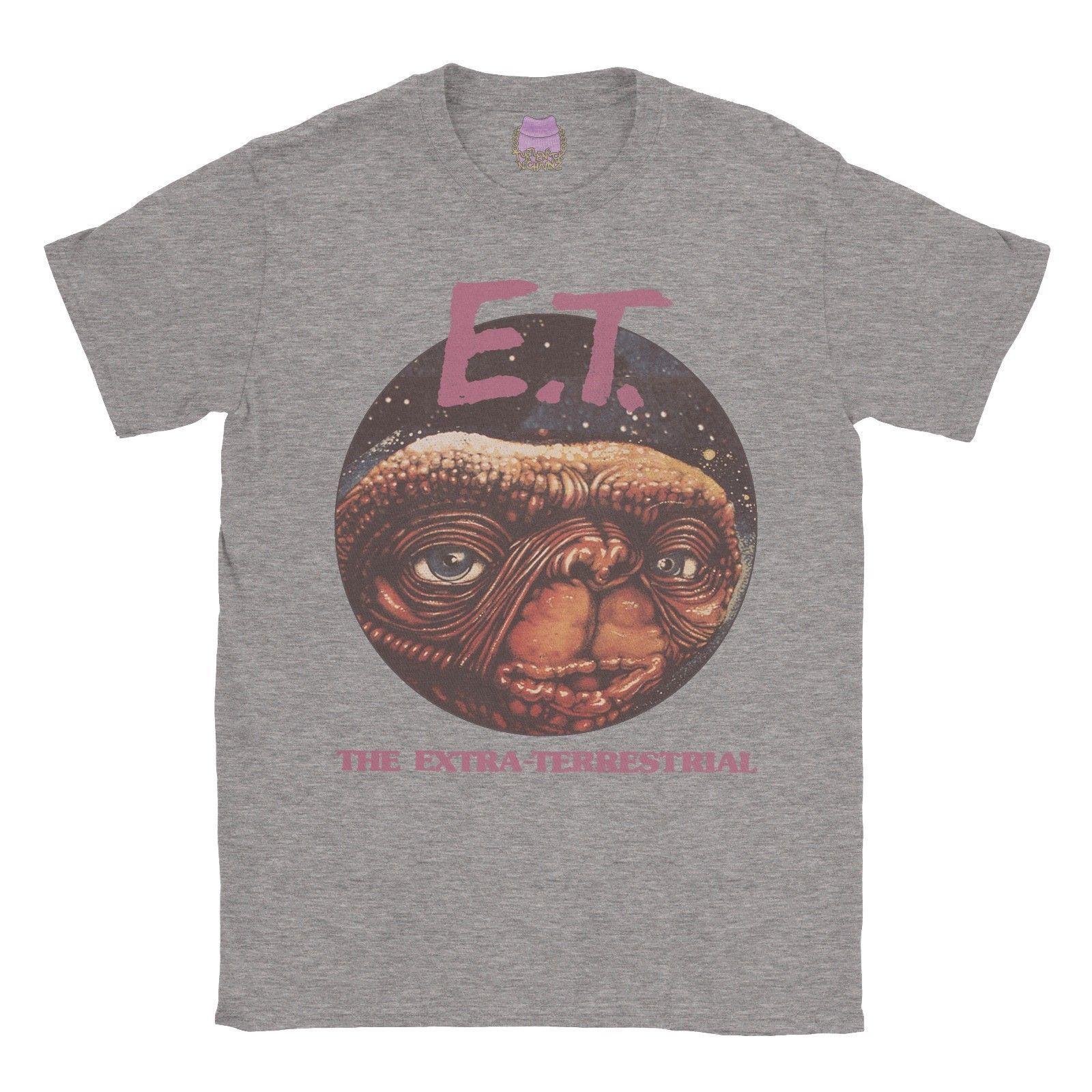 0b2d5c8c E.T T Shirt Classic Movie ET Retro Gift Vintage Mens Ladies Unisex Tshirt  Tee Denim Clothes Camiseta T Shirt Cattt Windbreaker Pug Tshirt Tna Shirts  ...