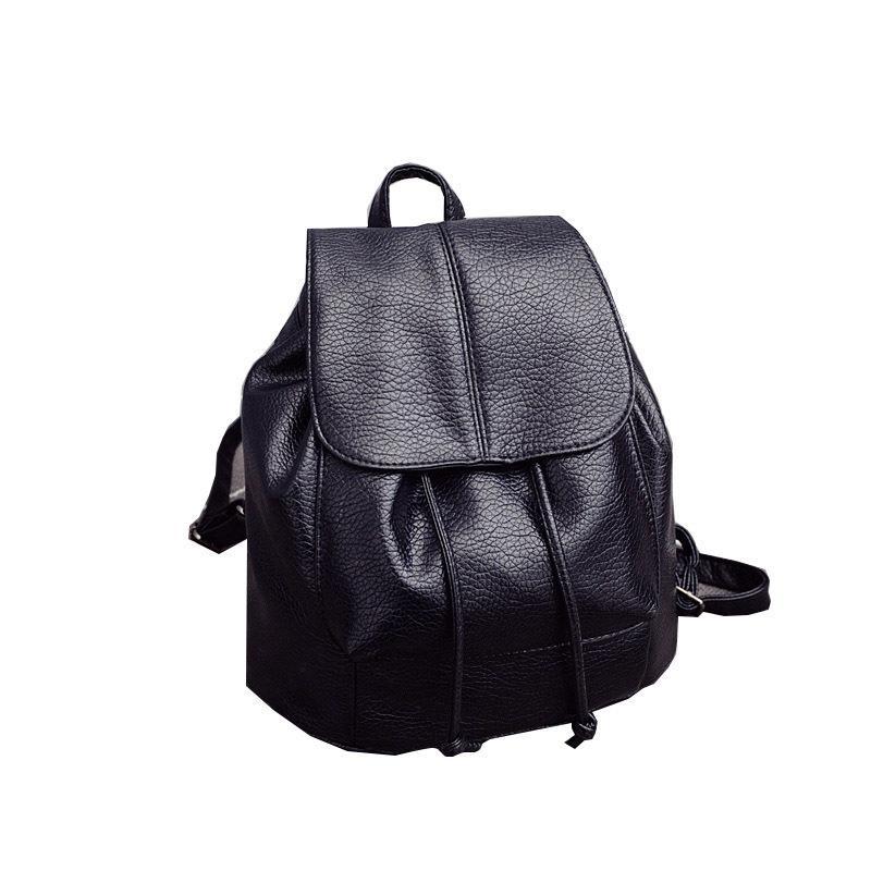 95381ea68ce4 Hot Sales!2019 Summer New College Wind Schoolbag Washed Leather Backpack  Woman Korean Tidal Fashion Leisure Travel Bag Backpacks Rucksack Jansport  Backpacks ...