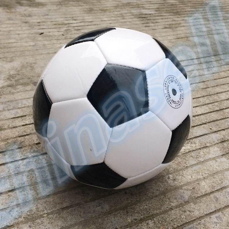 327a3a69ba Classic Black White Outdoor Butyl Inner Football Ball Standard Adult ...