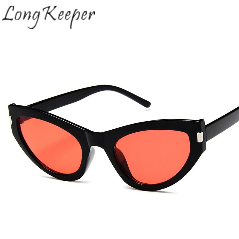 e3bd51f708 Long Keeper Cat Eye Sunglasses Women Men Eyeglasses Vintage Ritro Eyewear  Plastic Frame Shade Mirror Fashion Outdoor Light New Sunglasses Brands Best  ...