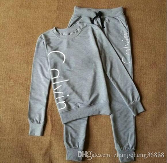 938ecf73470f1 Sportswear suit female spring and autumn 2018 new fashion Korean version of  running loose large size sweater casual two-piece S-XL