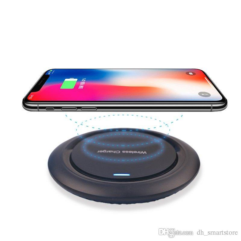 Qi Wireless Charger UFO Desktop Wireless Charging Pad For iPhone xs max xr X 8 8 Plus for Samsung Galaxy S7 / S8 / S8+/S9/S9+ S10 note9