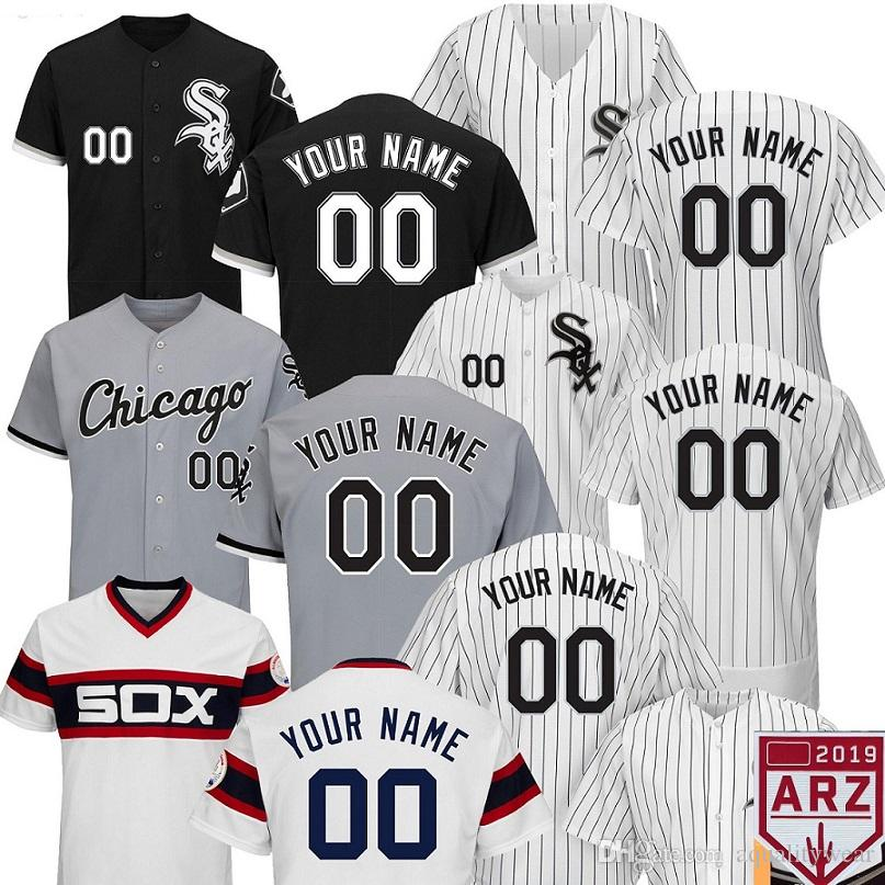 newest 02361 cd0ff 2019 White Sox Jersey 79 Jose Abreu 35 Frank Thomas 72 Carlton Fisk custom  personalized chicago cooperstown 21 Frazier 8 Jackson ANY name