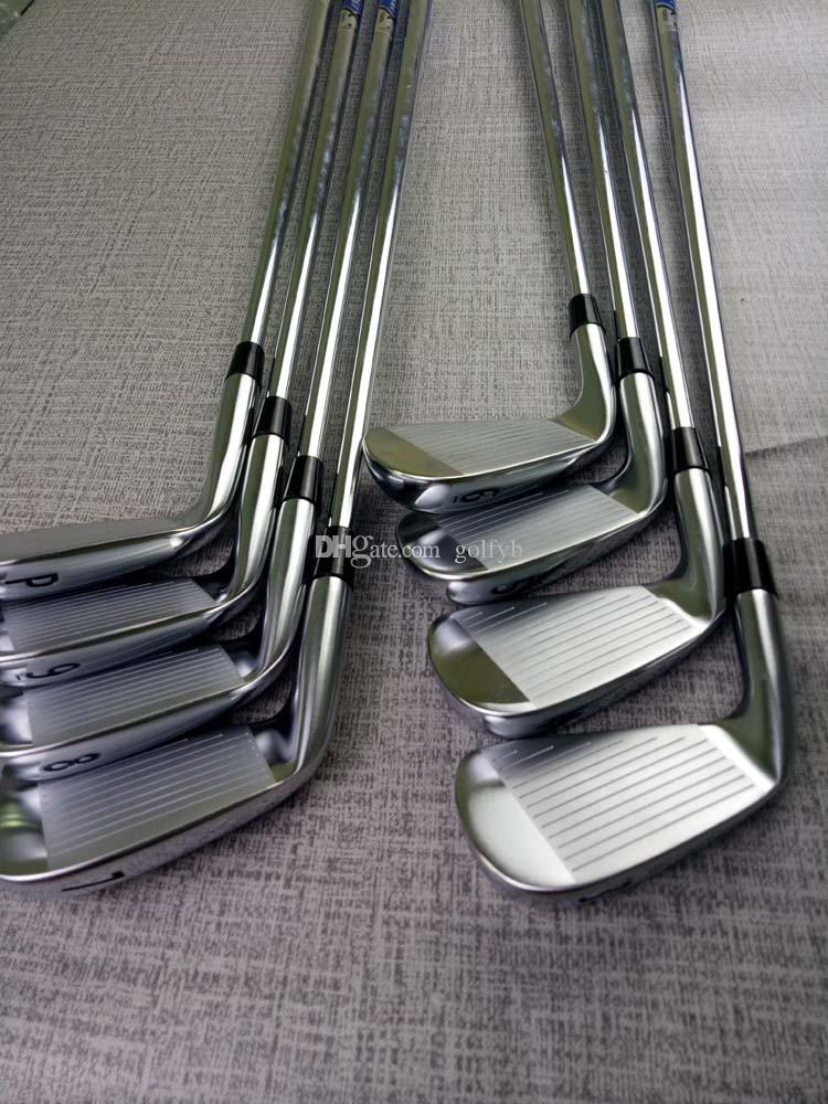 New Golf Club A2-716 Silvery Iron 8 picec Suits 3-9.P Loft R/S Flex Steel Shaft With Head Cover Free Delivery