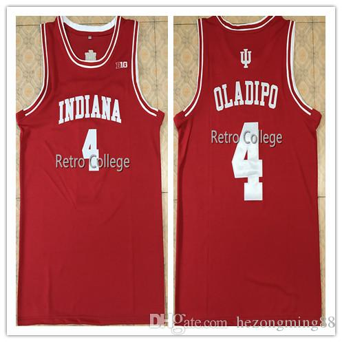 size 40 cad6d d6d14 2019 new High Quality 4 Victor Oladipo Indiana Hoosiers Mens Basketball  Jersey Custom any name and number all size