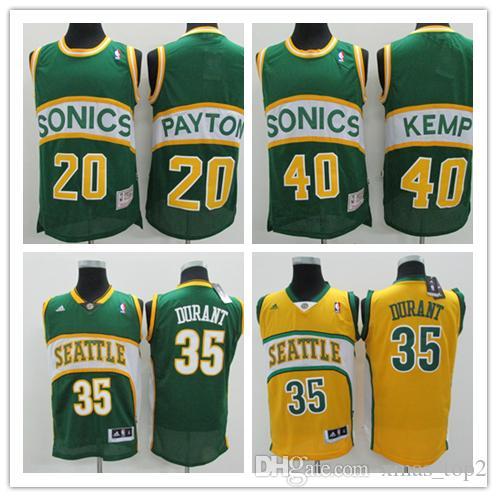213267ce702 ... closeout retro mens supersonics basketball jerseys 20 gary payton 40 shawn  kemp jerseys stitched hardwood classic