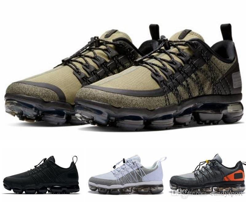 nike air Vapormax max Off white Flyknit Utility Reflektierende Medium Olivgrüner Burgund Crush Fashion Designer Trainer Sport Sneakers