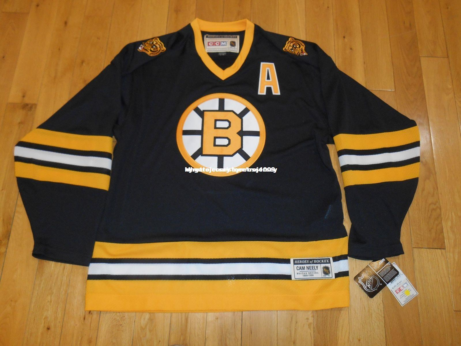 1beb9908 2019 Cheap Custom CAM NEELY BOSTON BRUINS Stitched Heroes Of Hockey 89 90  Men VINTAGE CCM HOCKEY JERSEY Personalized Customization Retro Jersey From  ...