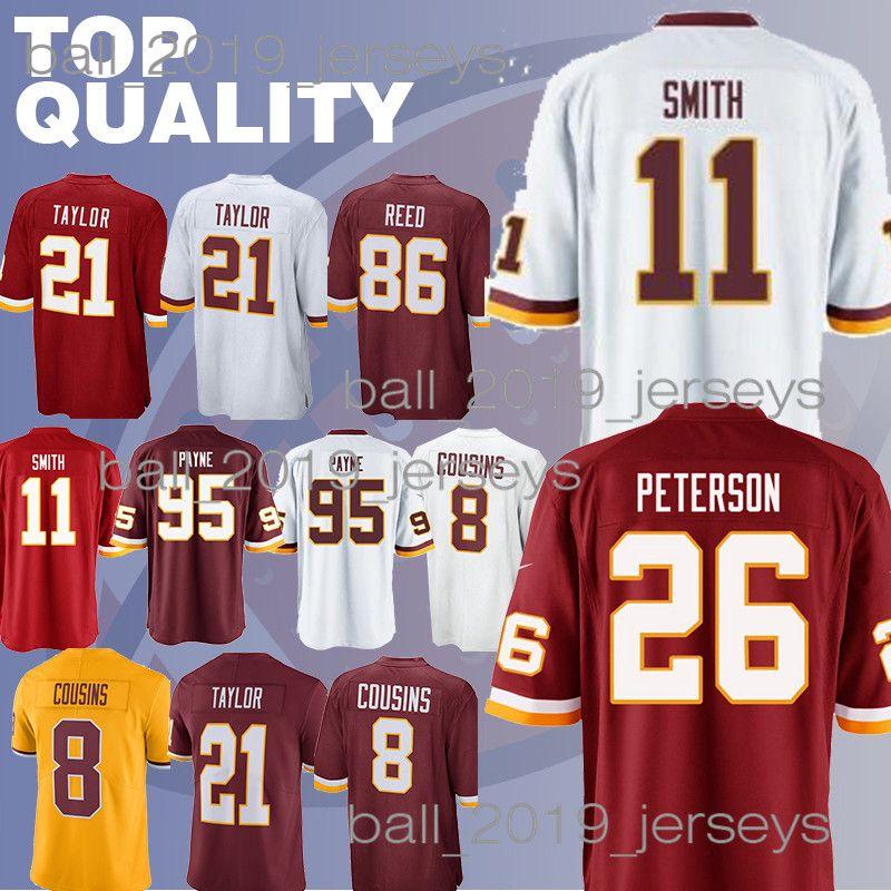Redskins Jerseys 21 Sean Taylor Ryan 91 Kerrigan Alex 11 Smith Kirk 8  Cousins 86 Reed Derrius 29 Guice Jerseys UK 2019 From Ball 2019 jerseys da91d50a9