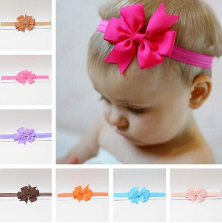 cc006be25b3 Headwrap 2019 Headbands Headwear Girls Bow Knot Hairband Head Infant  Newborn Toddlers Gift Tiara Accessories Clothes Flower Clips Hair Flowers  Clips From ...
