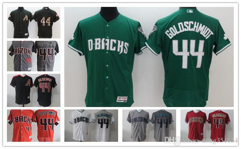 check out be651 27ef9 Unisex Diamondbacks jersey 44 Paul Goldschmidt jersey 51 Randy Johnson 21  Zack Greinke 13 Nick Ahmed 52 Zack Godley 6 David Peralta jerseys
